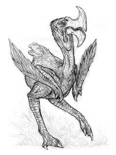 An Axebird by Chris Burdett
