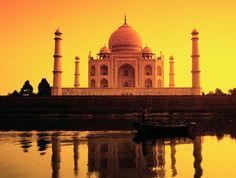 Autre vue du Taj Mahal à Agra