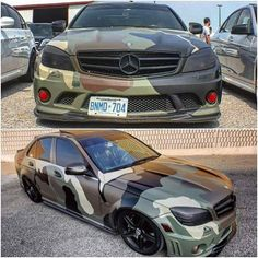 Mercedes benz camo Rat Rods, Vinyl Wrap Car, Bicycle Painting, Futuristic Cars, Mercedes Benz Amg, Car Wrap, Bmw Cars, My Dream Car, Cars And Motorcycles