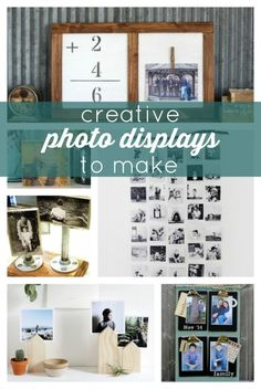 Creative Photo Displays to Make