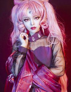 Photo or digital art idk? Kawaii as hell Kawaii Cosplay, Cosplay Anime, Cute Cosplay, Epic Cosplay, Cosplay Makeup, Amazing Cosplay, Cosplay Outfits, Cosplay Girls, Sailor Moon Cosplay