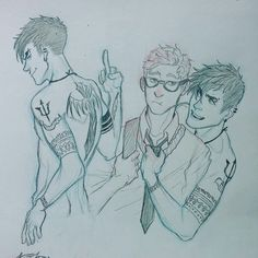 In an au where Percy is a badass (I mean even more than normal) and Jason is a nerd (I mean even more than nornal)