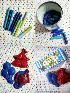 DIY Crayon Party Favors - Awesome idea!