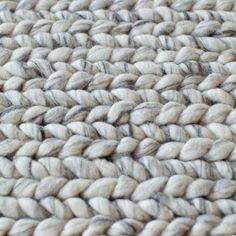 Plait Rug Silver | News | artillery | Interior Gothenburg
