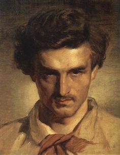 Anselm Feuerbach - self-portrait