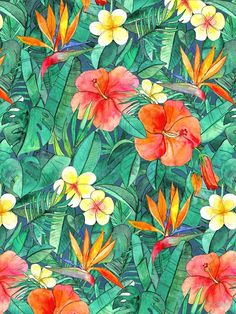 Classic Tropical Garden by micklyn