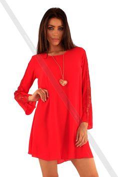 http://www.fashions-first.se/kvinna/klanningar/lace-sleeve-swing-dress-k1824-1.html Nya kollektioner för julen från Fashions-First. Fashions-första en av de berömda online grossist av mode dukar, urbana kläder, accessoarer, herrmode dukar, väskans, skor, smycken. Produkterna uppdateras regelbundet. Så besök och få den produkt du vill. #Fashion #christmas #Women #dress #top #jeans #leggings #jacket #cardigan #sweater #summer #autumn #pullover