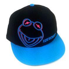 Neon Kermit Baseball Cap, $20, now featured on Fab.