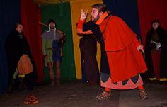 Achtung Kinder, nicht gelacht, ... und erst recht nicht nachgemacht, das darf nur der Kalibo, der macht damit die Leute froh. :-)