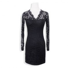$11.94 Sexy Style Lace Openwork Design Dress For Women