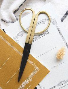 圖片 丹麥經典 萬用黃銅合金剪刀 黃銅
