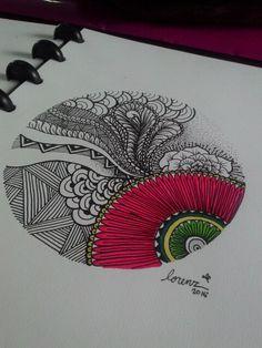 #drawing #illustration #mandala #art #artwork #ink #pen #marker