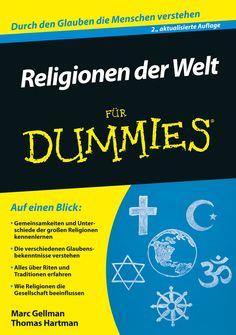 Religionen der Welt für Dummies Für Dummies, Books, Products, Golden Rule, Judaism, Christianity, Catholic, Getting To Know, Libros