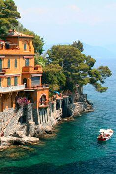 Portofino, Liguria, Italy #Portofino #YachtWorldCharters #YWC