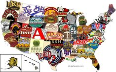 The best beer by state.