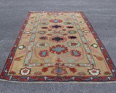 Vintage Turkish Carpets and Vintage Turkish Kilim by SILKROADRUGS Turkish Carpets, Bohemian Rug, Rugs, Vintage, Design, Home Decor, Farmhouse Rugs, Decoration Home, Room Decor