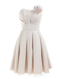 Landybridal 2013 Cute A Line Strapless Knee Length Satin Bridesmaid Dress with Detachable Flower E22464 M(US2-US8) Champagne Landybridal,http://www.amazon.com/dp/B00B1OSW8Q/ref=cm_sw_r_pi_dp_lMzKrb772BD742B8