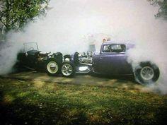 Smoke them tires