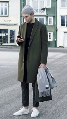 Breathtaking 53 Overcoat Outfit During Winter for Men