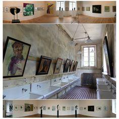 Art over basins