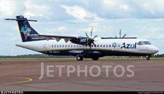Airline: Azul Linhas Aereas Brasileiras Registration: PR-AQQ Aircraft Variant: ATR Aircraft Name: Eu Sempre Sonhei Azul Location: Cascavel Airport Azul Brazilian Airlines, Atr 72, Boeing 747 200, Flight Deck, Photo Online, Aircraft, Commercial, Self, Blue Nails
