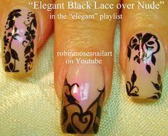 """Robin Moses Nail Art: """"elegant nail art"""" """"christmas party nails ..."""