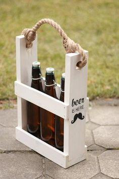Handmade wooden BEERBOX from Beerbox Factory by DaWanda.com