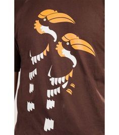 Bold n Bright - The Great Indian Hornbill Tee