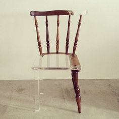 The first chair I designed | Tati Freitas