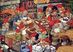 Christmas cards, Own collection - marketta - Picasa Web Albums Christmas Scenes, Christmas Gnome, Christmas Cards, Christmas Postcards, Troll, Norwegian Christmas, Scandinavian Christmas, Gnome Pictures, Christmas Preparation