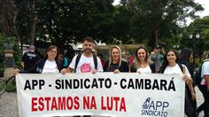 NAS de Cambará faz a luta  contra a resolução 113/2017 em Curitiba, PR - 15/03/2017