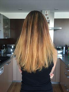 #hair #ombre #dark