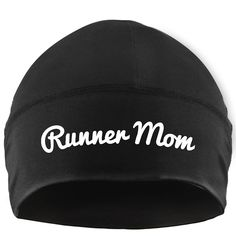 Gone For a Run Run Technology Beanie Performance Hat - Runner Mom Made by #Gone For a RUN Color #White. Performance Microfiber is designed for all day comfort. Moisture wicking and fast drying for frequent use. Keeps you dry and comfortable in both warm and cold weather. Hat is one size fits all - Beanie is great for working out!. Official Gone For a Run Brand Product - Passionate about sports and the products we make