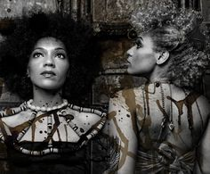 Les Nubians- These ladies are beautiful. Love their music, and hair.