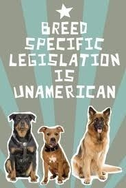 End BSL: Stop banning based on breed: it is discriminatory