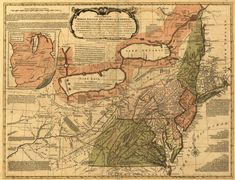 A British map from the Revolutionary War