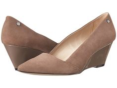 Calvin Klein Calvin Klein  Bala (Winter Taupe Kid Suede) Womens Shoes for 49.99 at Im in!