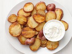 Grilled Lemon-Pepper Potatoes, Food Network, Sept. 2013 issue.