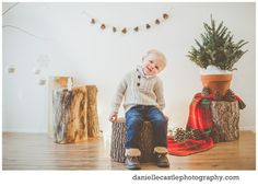 indoor winter photography session, winter photos, children photography, danielle castle photography