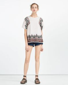 EMBROIDERED TOP-Embroidered-TOPS-WOMAN | ZARA United States