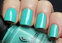 China Glaze Aquadelic  Great summer color