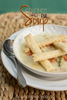 Chicken Pot Pie Soup Recipe Homemade