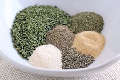 Homemade Ranch Seasoning Mix, 0 weight watchers points plus, easy to make and perfect for low calorie ranch dressing and other recipes
