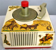 "1949 ""Happy Trails/Roy Rogers & Trigger"" RCA Victor Record Player"