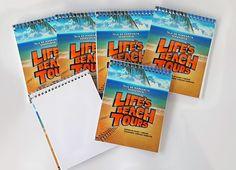Libretas promocionales para nuestros amigos de Lifesbeachtours. Creamos tu material promocional para todo tipo de evento, #libretas, #volantes, #tarjetas y mucho mas!