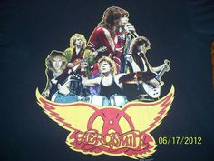 Vintage 1988 Walk This Way XL Aerosmith Rock Concert T Shirt Very RARE | eBay