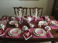 TEA IN TEXAS: PINK PRETTY PARTY