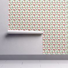 Fancy flora on Isobar by diseniaz Cloth Napkins, Tea Towels, Custom Fabric, Spoonflower, Flora, Posters, Fancy, Wallpaper, Design