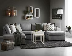 30 Affordable Apartment Living Room Design Ideas On A Budget - Knowing how to design a better living room can be cost-effective in the long run. When you understand the trick of living room design, the amount of money you can save is incredible. There wi Living Room Carpet, Living Room Grey, Living Room Furniture, Living Room Decor, Living Rooms, Living Spaces, Cheap Sofas, Small Room Design, Small Living