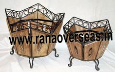 We have various designs and Wood iron combinationa Magazine racks available in different sizes and shapes.